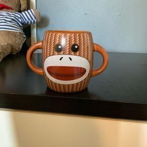 Sock money coffee mug